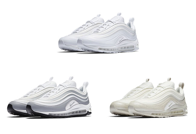 Nike,Air Max 97 Ultra  小白鞋首次亮相!三双全新 Air Max 97 Ultra 官图曝光
