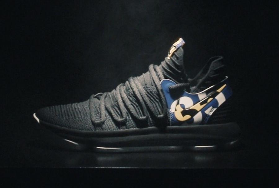 Nike,KD 10  极具收藏价值!KD 10 PE 配色超限量发售