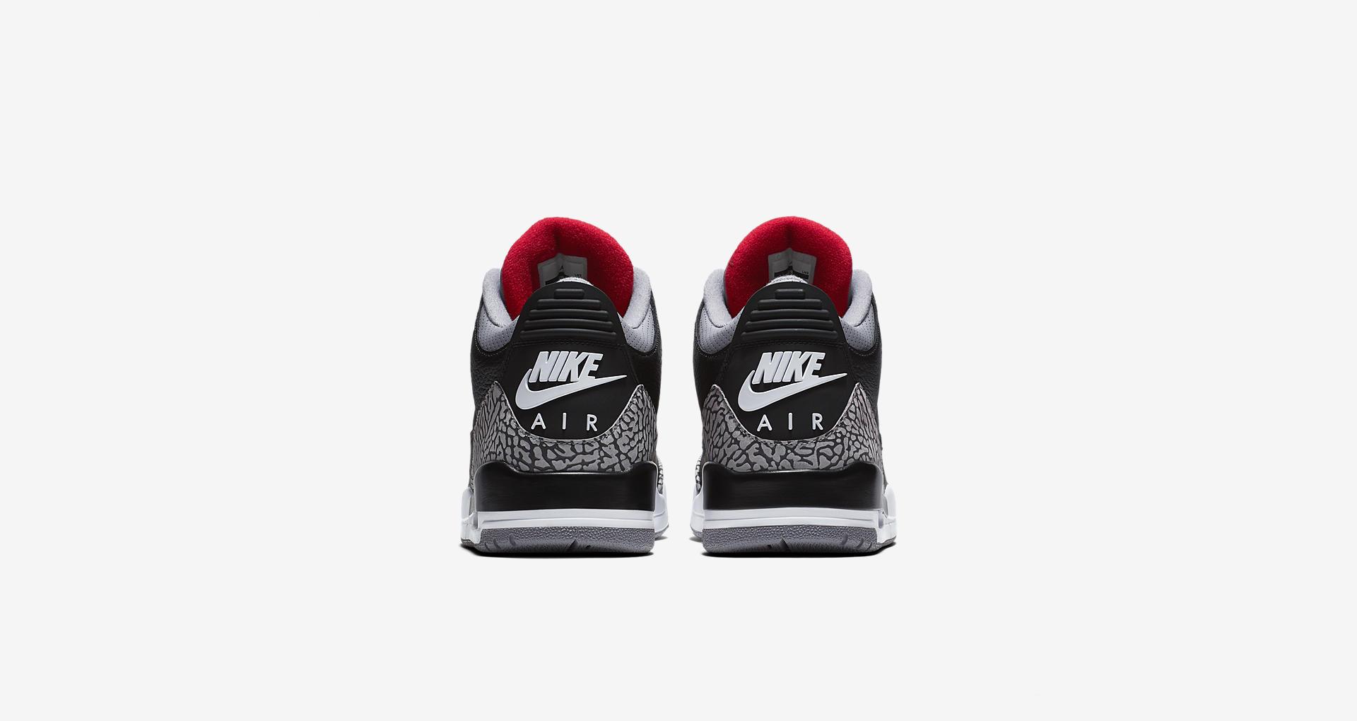 854262-001,AJ3,Air Jordan 3 854262-001 AJ3 黑水泥 Air Jordan 3 中国区发售信息正式公布
